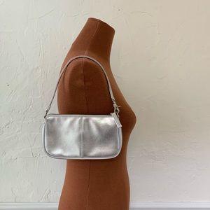 Vintage 90s GAP Silver Mini Shoulder Bag